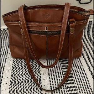 Patricia Nash Brown Leather Handbag